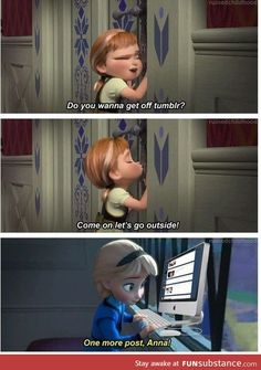 In which Elsa is us