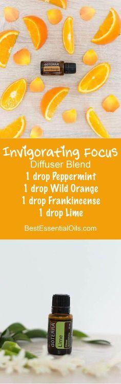 Invigorating Focus doTERRA Diffuser Blend