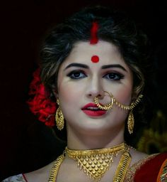 Beautiful Indian Brides, Beautiful Muslim Women, Beautiful Girl Image, Most Beautiful Indian Actress, Beautiful Saree, Beautiful Bride, Bengali Wedding, Bengali Bride, Indian Bridal Photos