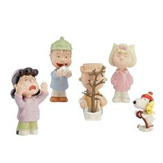 Lenox 5-Piece Thats What Christmas is All About Charlie Figurine Brown by Lenox @ niftywarehouse.com #NiftyWarehouse #Peanuts #CharlieBrown #Comics #Gifts #Products