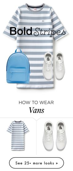 """""""Bold Stripes"""" by felibi96 on Polyvore featuring Lacoste L!VE, Vans, PB 0110, StreetStyle and BoldStripes"""