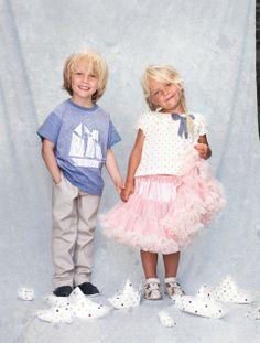 Siblings, cuties, kids, children, petticoat, sailor, memini, children's wear, kids style, kids fashion