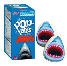 """""""JAWS"""" Pop-Tarts by Newt Cloninger-Clements"""