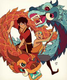 avatar aang - avatar the last airbender Avatar Aang, Avatar Airbender, Avatar Legend Of Aang, Team Avatar, Legend Of Korra, Zuko, Joker Comic, Art And Illustration, Dragon Dance