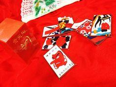 JAPANESE VINTAGE playing card HANAFUDA