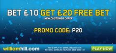Win £50 Million in the WilliamHill Tipster competition