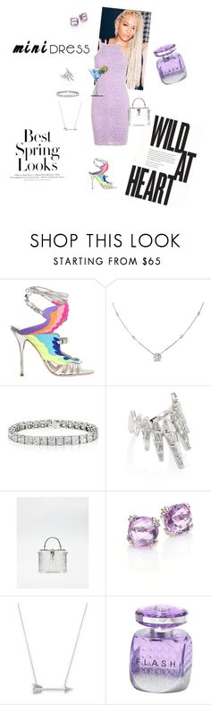 """""""It Girl 🌸"""" by foreverslayy ❤ liked on Polyvore featuring Sophia Webster, Ice, Nikos Koulis, Dolce&Gabbana, Anzie, Estella Bartlett, H&M and Jimmy Choo"""