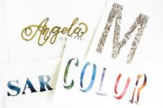 In Part II of Creative Hand-Lettering Tutorials, you'll learn four new lettering styles that will make your hand-lettering stand out!