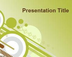 Free Going green PowerPoint Template