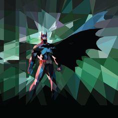 Sharp Batman, Bane, and Catwoman Art by Kate Jones — GeekTyrant