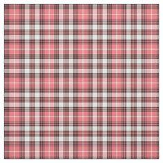 Fabric Patterns, Print Patterns, Design Patterns, Coral Pink, Pink Black, Pink Christmas Decorations, Tartan Fabric, Check Fabric, Tartan Pattern