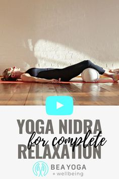 This Yoga Nidra for Total Relaxation is a 25-Minute class including calming nature sounds from the forest. Practice this when you need a moment of calm, perhaps at night, to fall asleep faster and stay asleep longer or even if you feel stressed during the day and have a moment to pause and breathe. Hope you enjoy the class! Lots of love, Bea