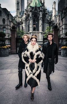 Reign Photo Shoot - Queen Mary (Adelaide Kane), Prince Francis (Toby Regbo) and Bash (Torrance Coombs)
