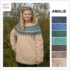 no - Spesialist på islandsk garn Pullover, Knitting, Sweaters, Inspiration, Black, Design, Fashion, Threading, Model