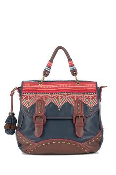 Isabella Fiore Tribal Taylor Top Handle Handbag » Amazing bag!