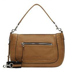 große Hobo Tasche Liebeskind Hobo Large Leder Light tan Marken Logo, Clutch, Shopper, Hobo Bag, Kate Spade, Bags, Fashion, Soft Leather, Suede Fabric