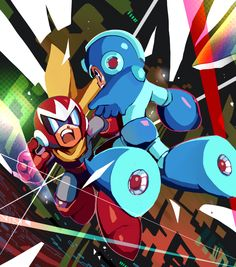 Mega Man vs. Proto Man