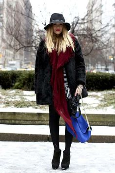 15 Bundled-Up Outfits That (Almost) Make Us Long For a Nor'Easter | StyleCaster