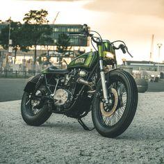 New from Nozem Amsterdam: a radical chopped Yamaha XS650.