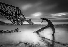 Forth Rail Bridge Anchor by David Sharman on 500px