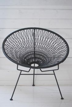 OLSSON JENSEN - WIRE CHAIR - BLACK barefootstyling.com