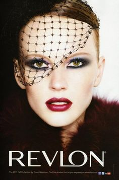 Revlon Advertisement Gucci Westman Collection FW 2011-12 - Anne Vyalitsyna