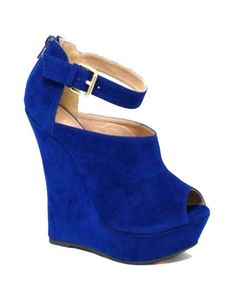 Peep toe booties with ankle strap. Comes in black and brown also. $50.00
