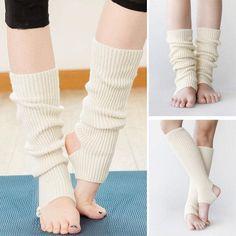Jambiere pentru copii si adulti, pentru protectia picioarelor, potrivite pentru dansuri latino, yoga sau balet, jambiere tricotate calduroase