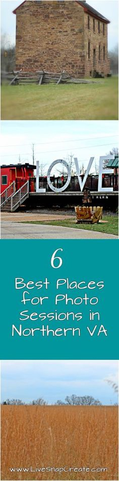 6 Best Places for Photo Sessions in Northern Virginia