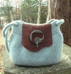 Misty Morning Handbag. $65.00, via Etsy.  Exquisite handmade bags by Mindy's Bag Yard.  I so love this one.