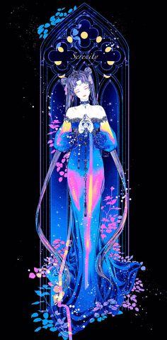 Aesthetic Drawing, Aesthetic Art, Anime Galaxy, Fantastic Art, Character Design Inspiration, Kawaii, Anime Art Girl, Art Techniques, Sailor Moon