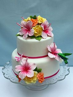 Image result for beautiful cake flowers