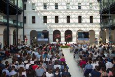 visione d'insieme al centro culturale San Gaetano per il Premio Galileo 2014