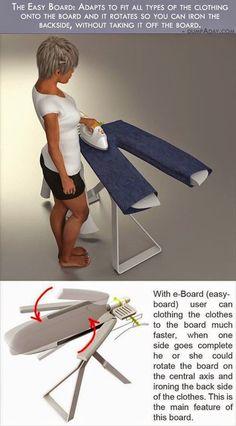 5. Easy Ironing Board