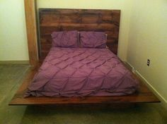 Hey, I found this really awesome Etsy listing at https://www.etsy.com/listing/181234923/mj-evans-platform-bed-custom-built