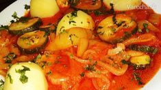 Pikantné lečo s cuketou s údenou paprikou na prírodno (fotorecept) - Recept
