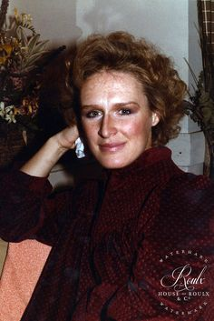 Glenn Close (by Peter Warrack) - Limited Edition, Archival Print