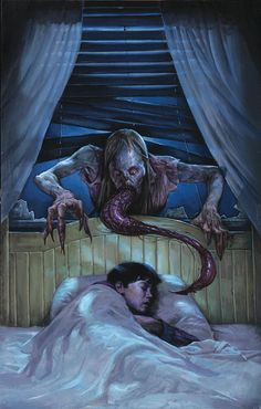 Have a Good Night all Don't let the Creeps get you While your sleeping…