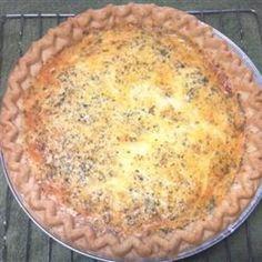 Quiche Recipes: Donna's Cheesy Quiche