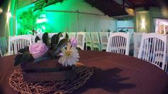 Ana Júlia faz 15 ❤ Decoração provençal para a debutante + Princesa, tons de rosa, arranjos de mesa vintage | Provencal Sweet Fifteen + Blush and pink, princess, wooden vintage centerpieces