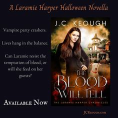 The Blood Will Tell one day pre-launch ebook sale for $.99 on Amazon. I hope you enjoy this Laramie Harper Halloween novella as much as I enjoyed writing it. . Thank you @biggs_bookshelf for the 5 star review. It is much appreciated.