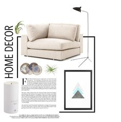 """Living Room - Airy"" by by-jwp ❤ liked on Polyvore featuring Black Orchid and living room"