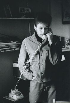 Ted Russell spent time with a young Bob Dylan in New York. As a lifelong jazz fan, he was unimpressed. So were a lot of editors, until the nasally voiced folk singer became a star. Bob Dylan Lyrics, Like A Rolling Stone, Talking On The Phone, Bob S, Zimmerman, No One Loves Me, Singer, American, Telephone Call