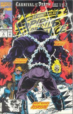 Ghost Rider & Blaze: Spirits of Vengeance (Marvel, 1992) #9