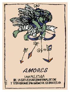 660.Quality interior Design Movie POSTER, Amores, love arrows.Cinema art | eBay