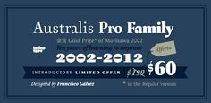 Fonts - Australis Pro by LatinoType - HypeForType Font Shop