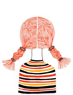 Todas as manhãs a Ana demora uma hora a desembaraçar o cabelo. Todas as noites ela sonha que a mãe lhe rapa a cabeça.