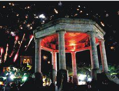 Kiosco de Ciudad Guzmán, Jalisco,