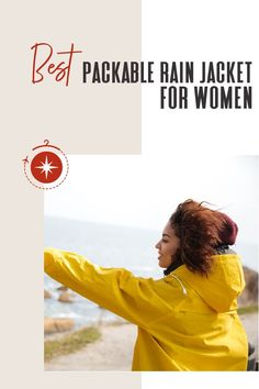 Packing for a wet destination is not always easy because raincoats can take up too much space in your luggage. But that doesn't have to be the case! See what our readers ranked as the best packable rain jacket to travel with! #TravelFashionGirl #TravelFashion #TravelClothing #raincoatforwomen #packableraincoat #raincoatoutfits #falloutfit