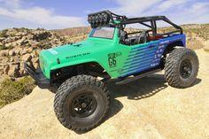 AX90036 - Axial 1:10 SCX10 Jeep Wrangler G6 Falken 4WD RTR -CKRC Hobbies  #CKRCHobbies